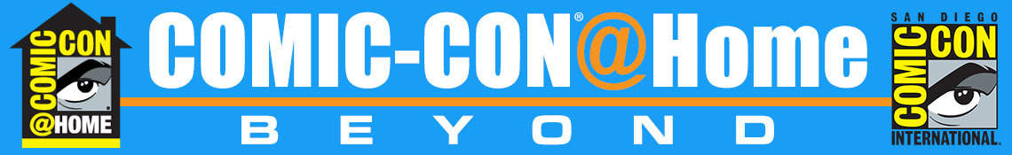 Comic-Con@Home Beyond Banner