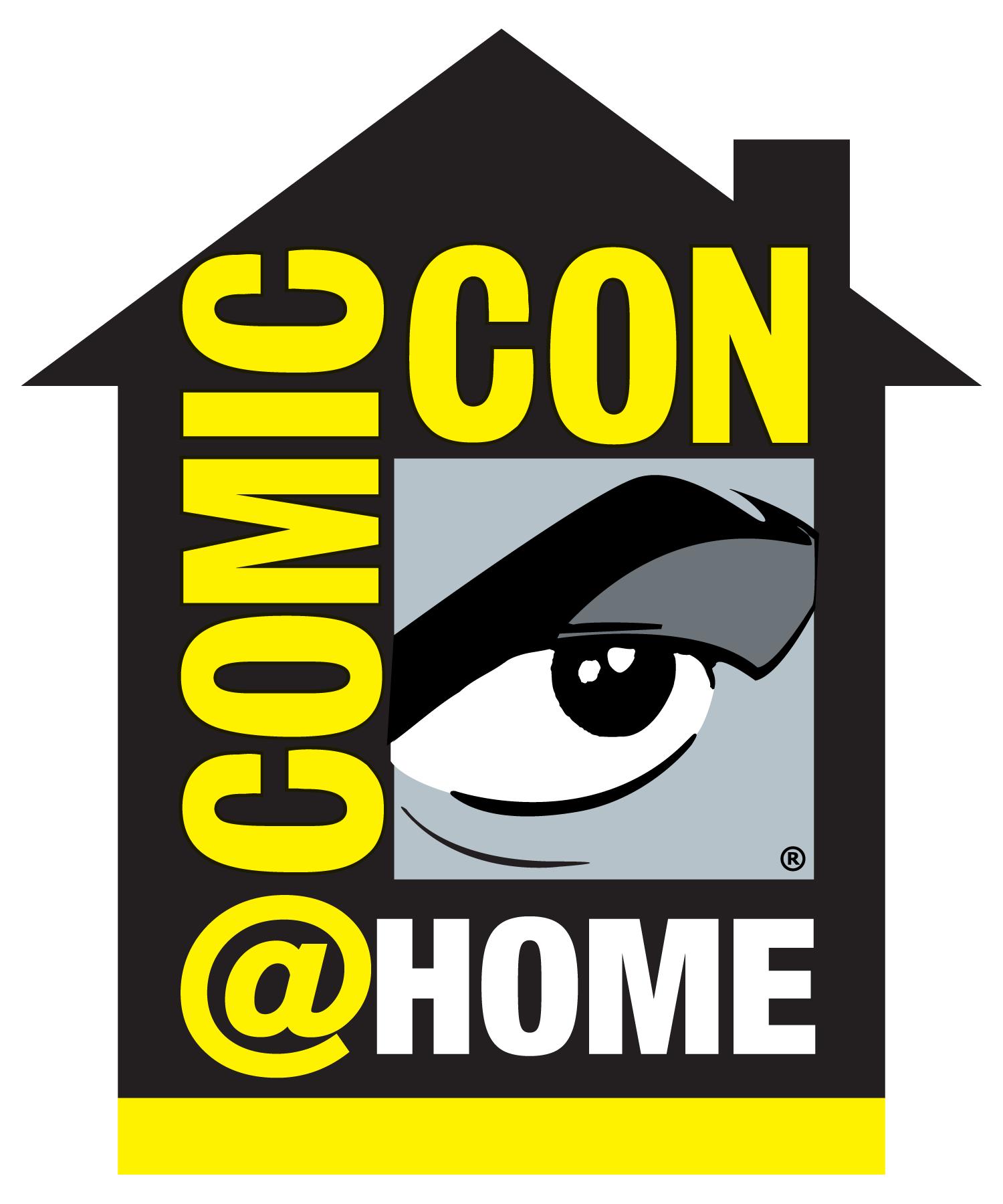 Comic-Con at home logo