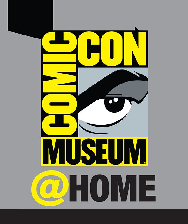 Comic-Con Museum@Home Logo