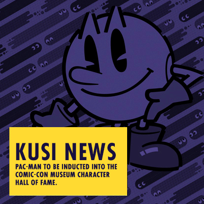 KUSI NEWS - Pac-Man to be Inducted into the Comic-Con Museum Character Hall of Fame
