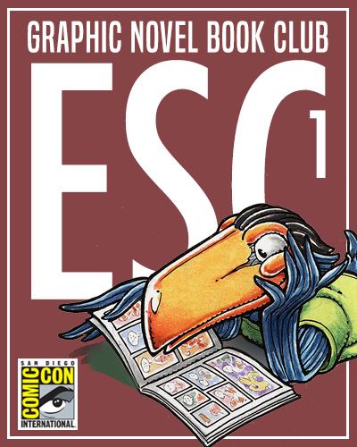 Comic-Con Graphic Novel Book Clubs: Escondido 1