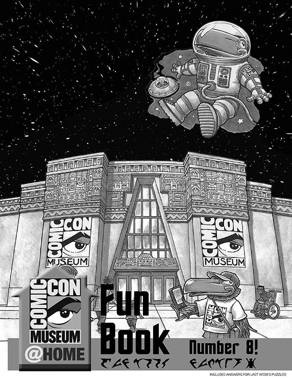 Comic-Con Museum@Home Fun Book #8