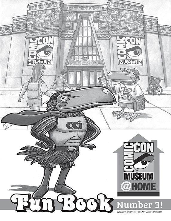 Comic-Con Museum@Home Fun Book #3