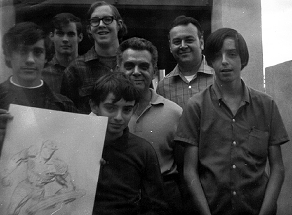 The Kirby visit in 1969