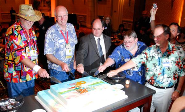 Comic-Con International's 40th anniversary party