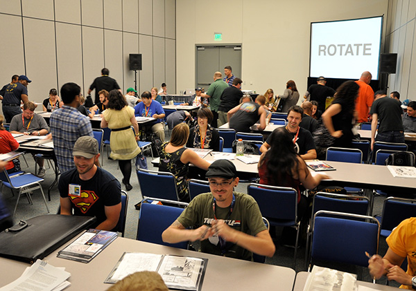 Comic Creator Connection at Comic-Con