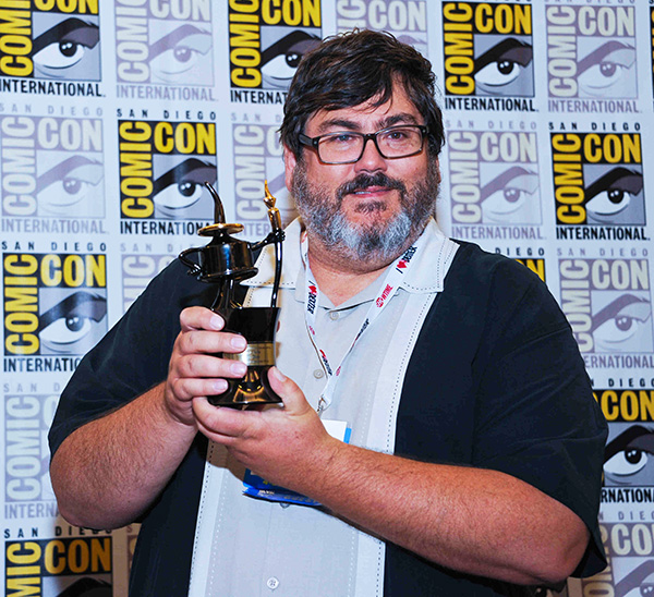 Comic-Con 2013 Inkpot Award winner Paul Dini