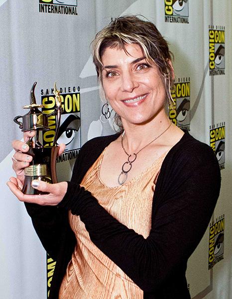 Comic-Con 2013 Inkpot Award winner Ellen Forney