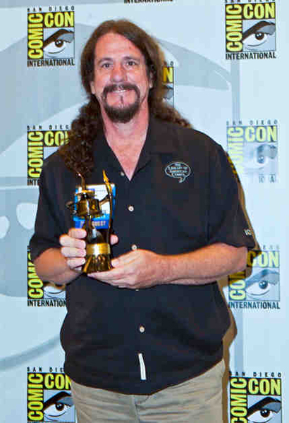 Comic-Con 2013 Inkpot Award winner Dean Mullaney