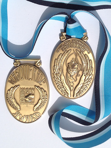 Comic-Con International Masquerade Medals