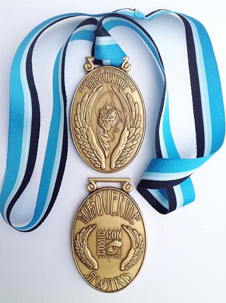 CCI Masquerade Award Medallion