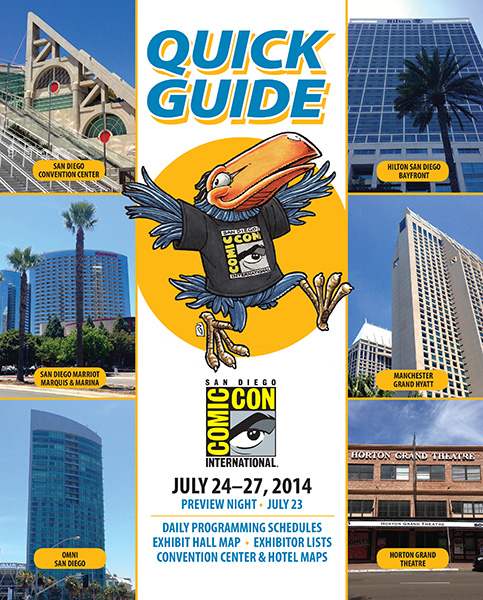 Comic-Con International 2014 Quick Guide