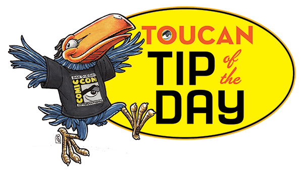 Comic-Con International 2014 Toucan T