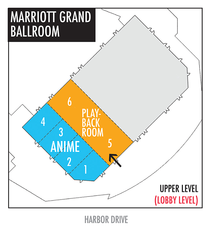 Comic-Con 2016 Marriott Marquis Marriott Grand Ballroom