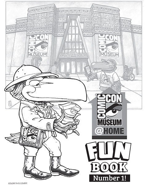 Comic-Con Museum@Home Fun Book #1