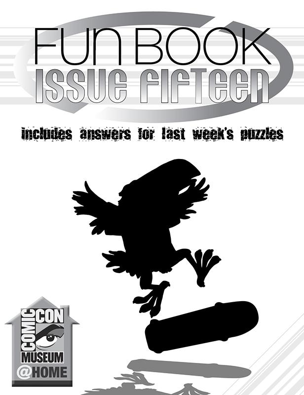 Comic-Con Museum@Home Fun Book 15: 20 Years of Tony Hawk's Pro Skater