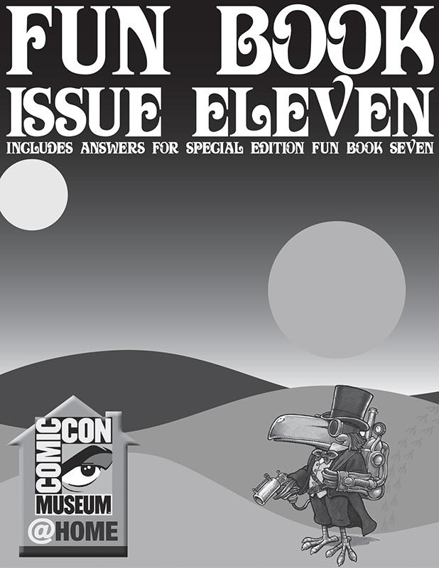 Comic-Con Museum@Home Fun Book 11