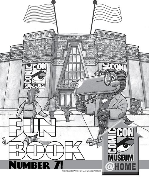 Comic-Con Museum@Home Fun Book #7