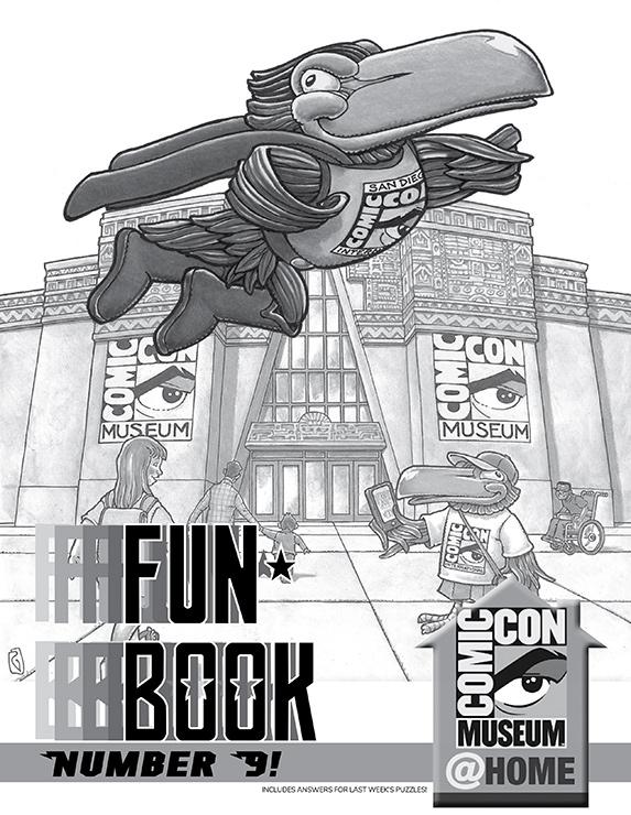 Comic-Con Museum Presents Fun Book Number 9