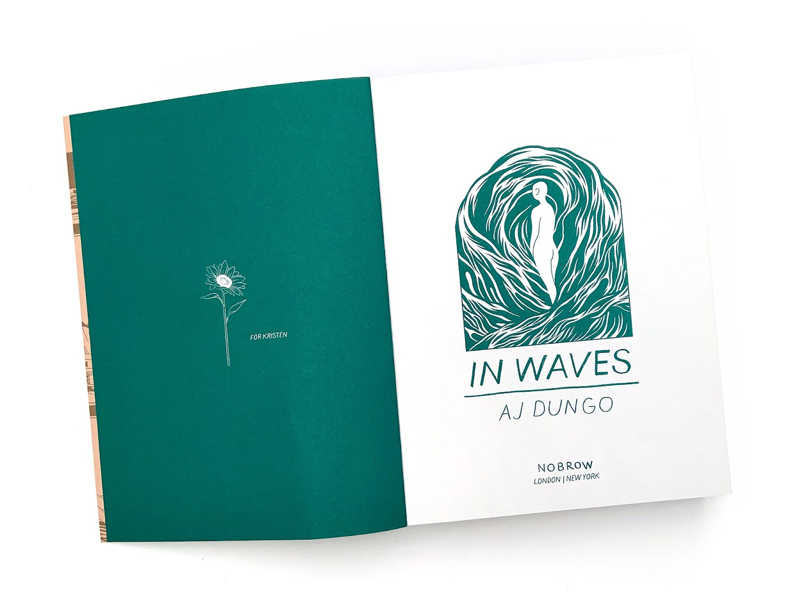 Comic-Con@Home Book Club In Waves by AJ Dungo