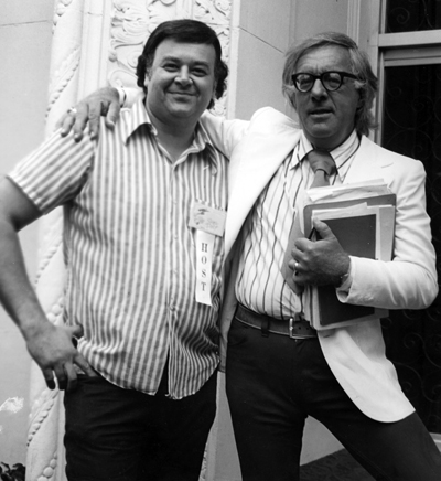 Shel Dorf and Ray Bradbury