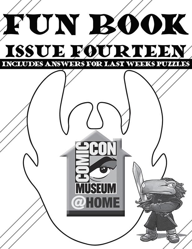 Comic-Con Museum@Home Fun Book 14