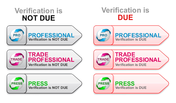 Verification Status Flags