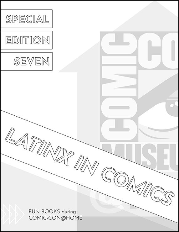 Comic-Con Museum@Home Special Edition Fun Book 7