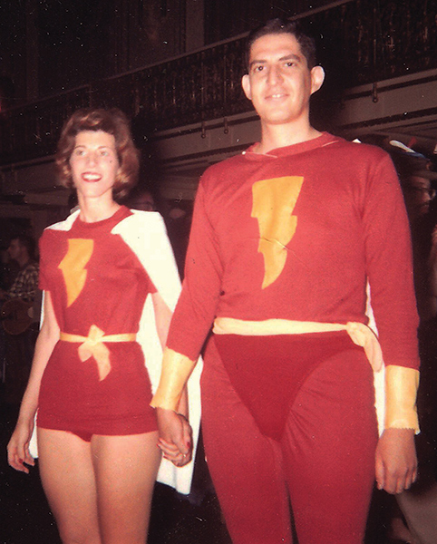 Pat and Dick Lupoff at WorldCon 1960