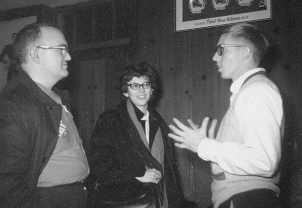 Don and Maggie with Roy Thomas, 1964