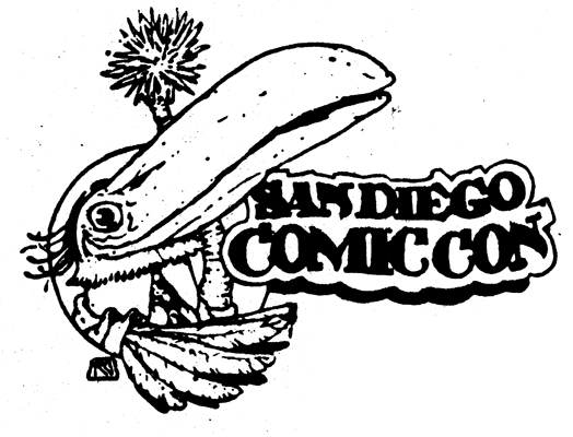 1984 San Diego Comic-Con log