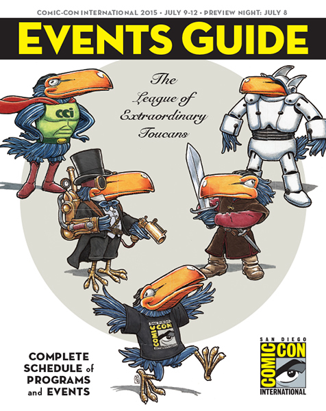 Comic-Con International 2015 Events Guide