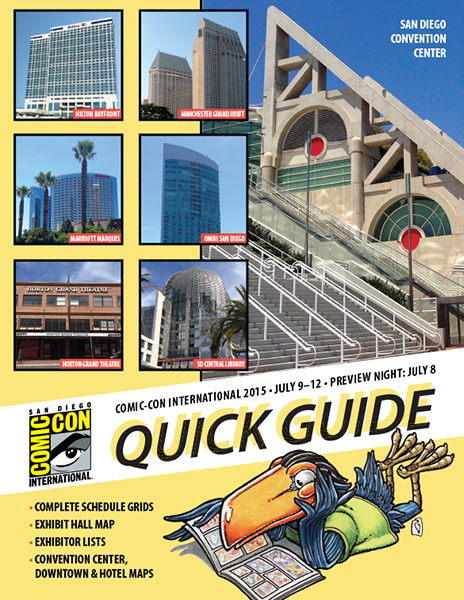 Comic-Con International 2015 Quick Guide