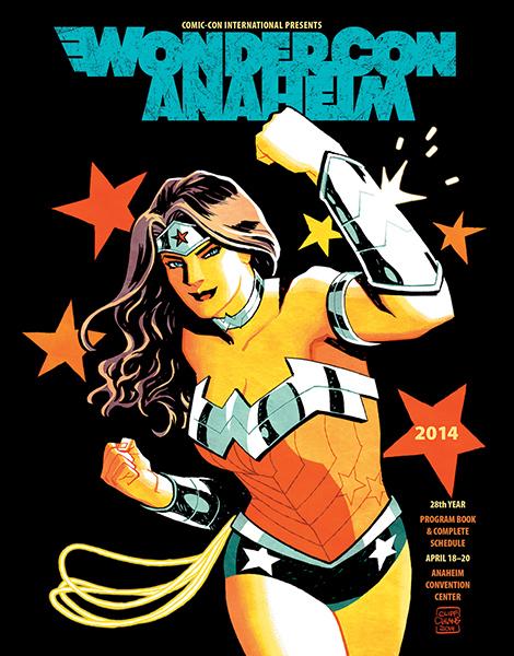 WonderCon Anaheim 2014 Program Book Cover