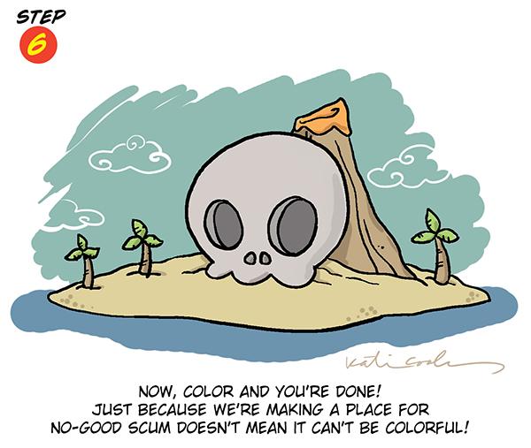 Evil Island Lair Step 6