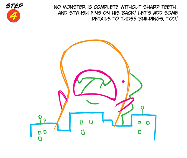Monsterous Step 4
