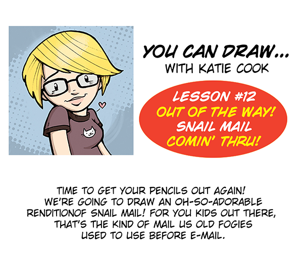 You Can Draw ... with Katie Cook! Intro