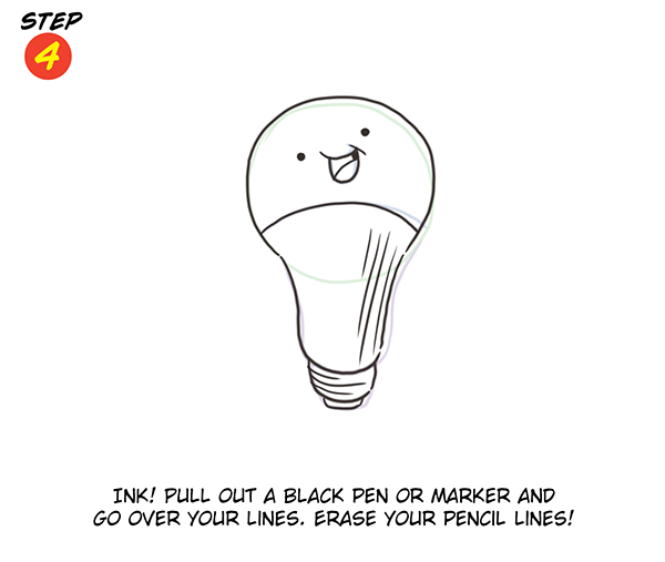 You Can Draw: An Idea! Step 4
