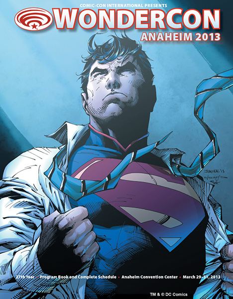 WonderCon Anaheim Program Book Cover