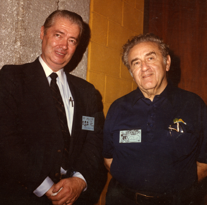 Murphy Anderson and Jerry Siegel