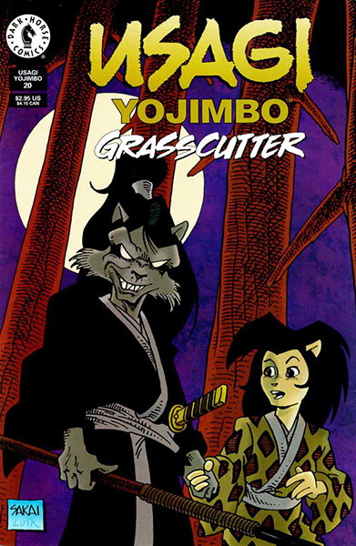 "Usagi Yojimbo #20, the start of Stan's ""Grasscutter"" epic."