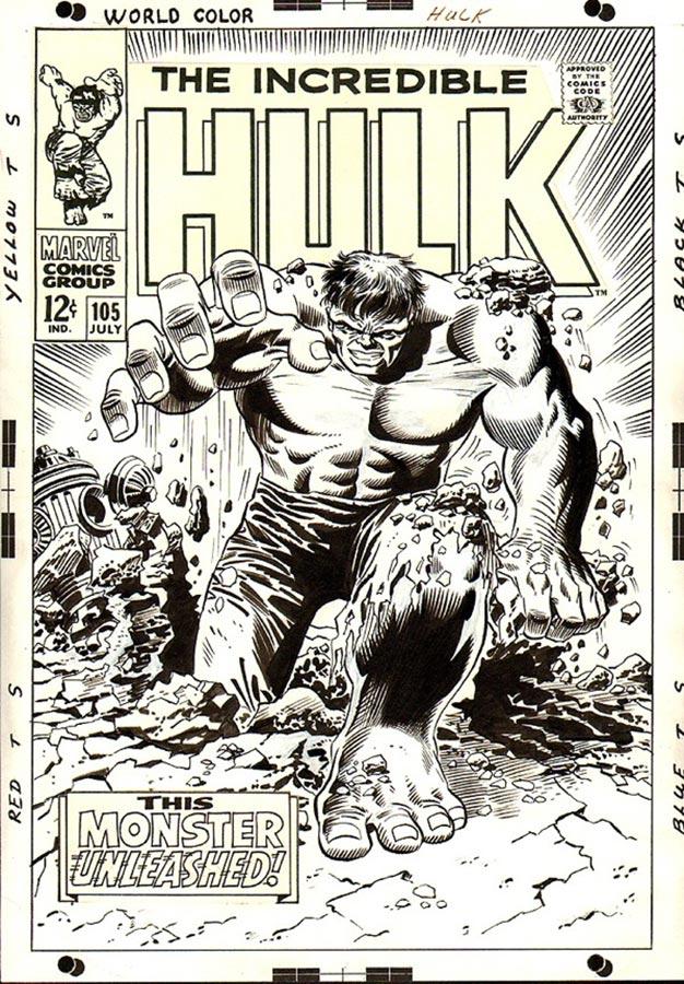 Incredible Hulk 105 by Marie Severin