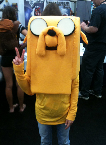 Jake the Dog Costume from Adventure Time