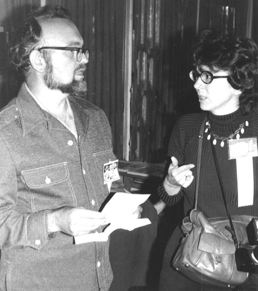 Don and Maggie at Comic-Con in 1976