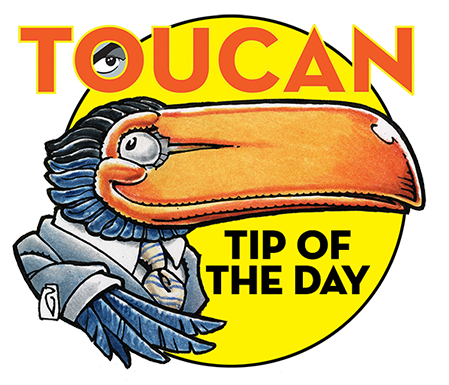Toucan Tip of the