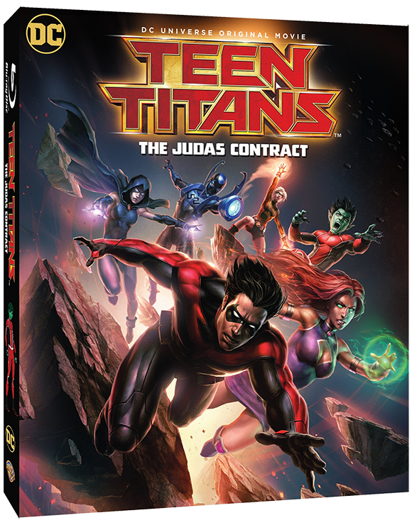 World Premiere of Teen Titans: The Judas Contract Exclusively at WonderCon Anaheim 2017