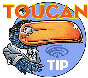 WonderCon Anaheim Toucan Tip of