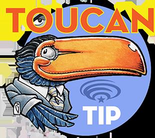 WonderCon Anaheim Toucan Tip of