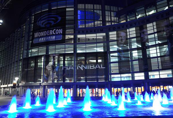 WonderCon Anaheim at night