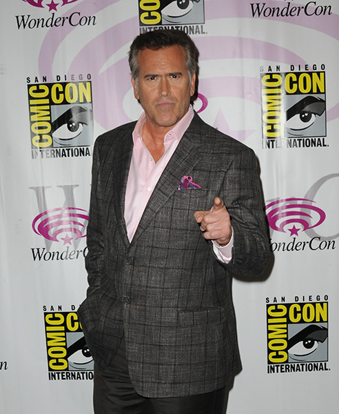 Bruce Campbell at WonderCon Anaheim